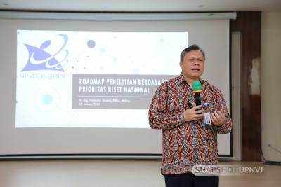 Tingkatkan Kompetensi Dosen, FK UPNVJ Gelar Workshop Roadmap Penelitian