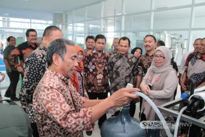 """Rektor UPN """"Veteran"""" Jakarta dan UPN """"Veteran"""" Yogyakarta bersama rombongan mengunjungi UPN """"Veteran"""" Jawa Timur"""