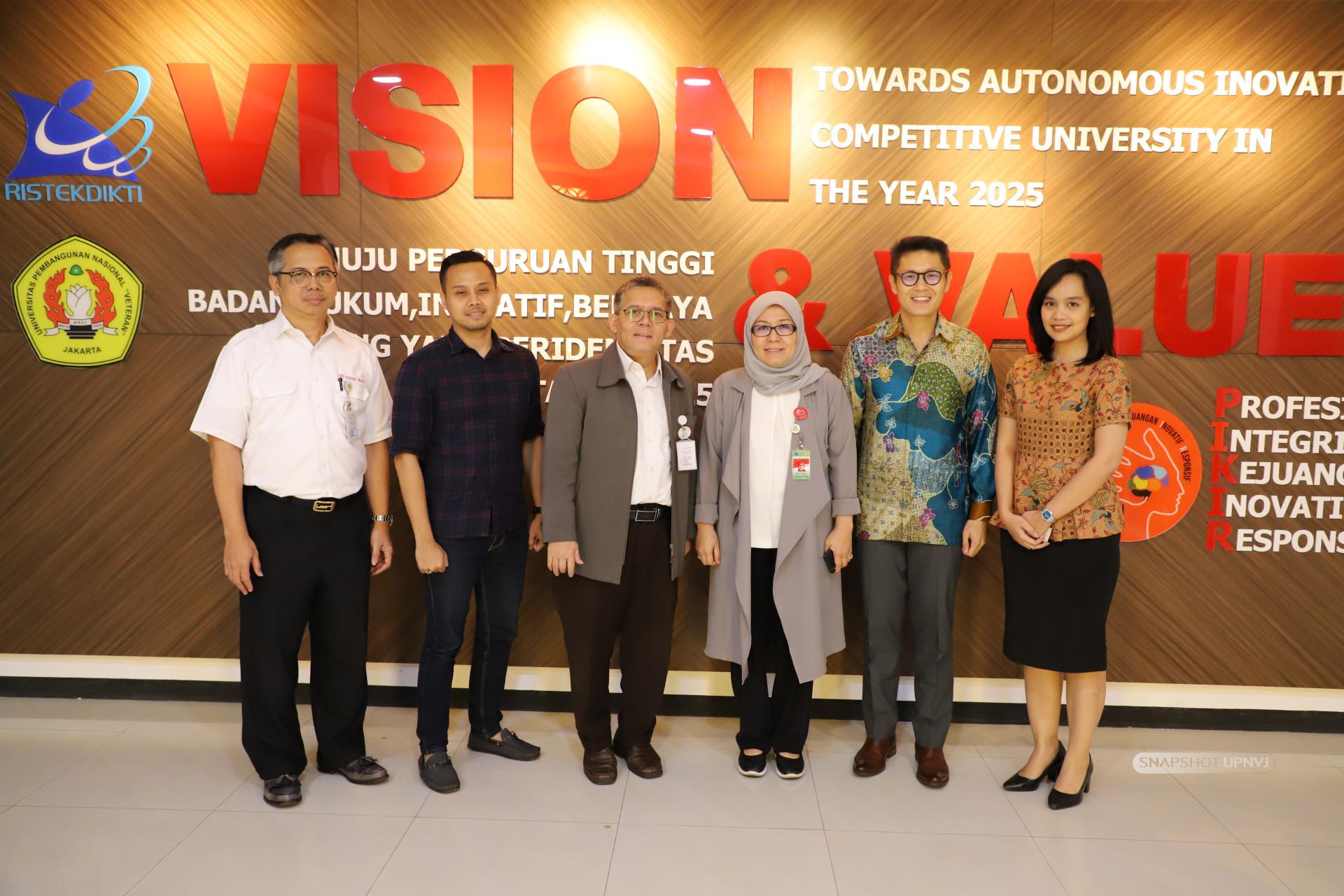 Pimpinan UPNVJ Terima Audiensi PT. Katadata Indonesia