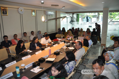 Rapat Koordinasi Laporan Capaian Kinerja Dekan Fakultas Ekonomi dan Bisnis UPNVJ 2019