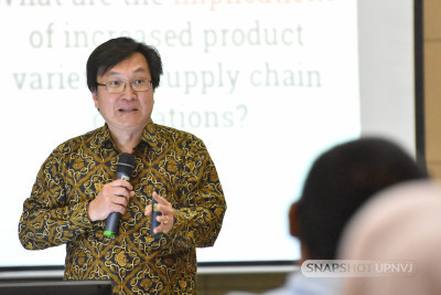 "Fakultas Ekonomi dan Bisnis UPNVJ menyelenggarakan International Public Lecturing dengan tema ""Sustainable Supply Chain Management in Digital Era"""