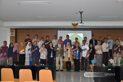 Paparan Capaian Kinerja Tahun 2019 dan Penandatangan Perjanjian Kinerja Tahun 2020 Dekan Fakultas Teknik dengan Rektor UPNVJ