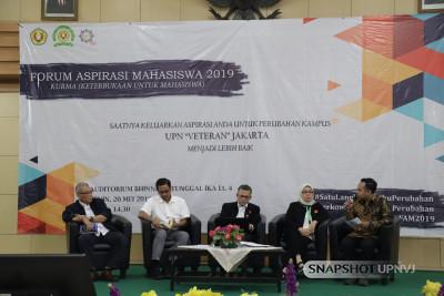 Demi Perubahan Lebih Baik, BEM UPNVJ Gelar Forum Aspirasi Mahasiswa 2019