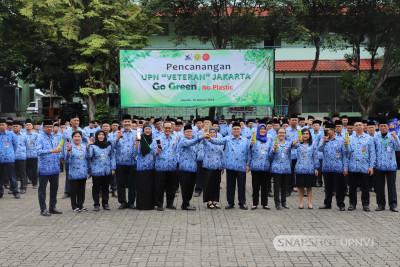 """Rektor UPNVJ  Canangkan """"Go Green"""" di Lingkungan Kampus"""