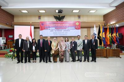 Pengambilan Sumpah dan Pelantikan Jabatan Dekan Fakultas Ekonomi dan Bisnis UPN